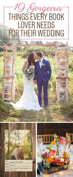 19 Ways To Have The Literary Wedding Of Your Dreams