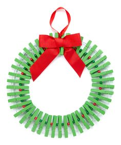 Look at this Wreath Card/Photo Holder Ornament on #zulily today!
