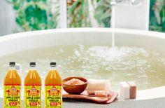 Je hebt helemaal geen dure badlotions nodig Het mag inmiddels wel duidelijk zijn dat appelcider azijn een wondermiddel is: het...