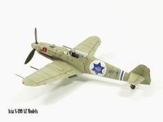 Avia S-199 (Czech-made Bf-109) | AZ Models 1:72 scale