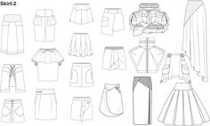 Illustrator Fashion Templates for Men Garment by Nadia Faubert - Creator of PrestigeProDesign.com - Where you can find clothing templates for illustrator.