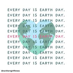 Although today is Earth Day, every day is an opportunity to care for our planet 🌎 #earthday2021 #everydayisearthday #environmentallykind #sustainabilitymatters #environmentalwellness #sustainabilityquotes Northern Girls, Cute Inspirational Quotes, Our Planet, Earth Day, Opportunity, Environment, Motivation, Sayings, Fitness