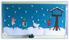 Wil je ook een Kikker in de kou themabord maken? Lees hieronder hoe je dat kunt doen.   1. Zoek op Google naar (kleur)platen van Kikker...