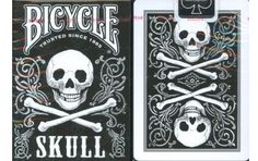 Bicycle Skull Back Playing Cards.
