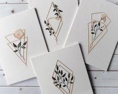 Botanical embroidery design embroidery pattern pdf pattern | Etsy