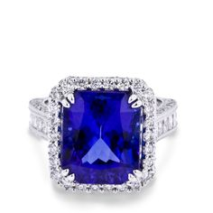 Tanzanite and Diamond Ring available at #arthursjewelers