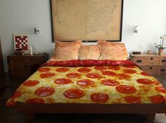 Cool Bed Sheets pizz
