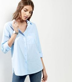 Bring longline designs into your formal wardrobe this season with this long sleeve shirt. Try teaming with skinny jeans and metallic boots to finish.- Collared neck- Button front fastening- Single pocket front- Simple long sleeves- Casual fit that is true to size- Soft cotton finish- Shirt length: 26.5
