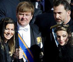Los Príncipes de Asturias asistirán a la coronación de Guillermo de Holanda