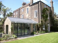 Photo of Extension and refurbishment of a georgian house Building Extension, House Extension Design, Glass Extension, House Design, Extension Ideas, Georgian Architecture, Architecture Plan, Kitchen Orangery, Cornwall House