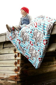 Finlayson Kippari-Aappa bed linen set I Kippari-Aappa -pussilakanasetti 46 € Bed Linen Sets, Stories For Kids, Matilda, Linen Bedding, Finland, Pattern Design, Textiles, Children, Boys