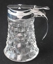 Fostoria American Syrup Dispenser