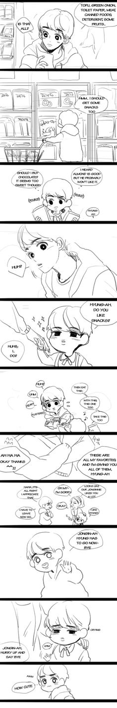 EXO chaneyol and little kai ^^