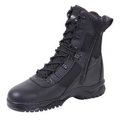 f69d455edbd140 Forced Entry 8-inch Insulated Waterproof Side Zip Tactical Boot Side Zip  Boots