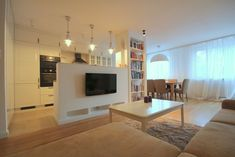 Living room / kitchen split - take 2