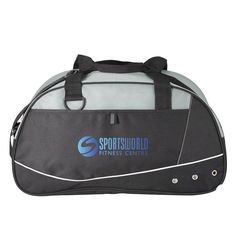"""Made from 600D polyester material with 80 GSM grey non-woven accents. Features a black adjustable shoulder strap, a Velcro front pocket with sewn in loop at the top, plastic D-ring for attaching keys and 22"""" long carrying handles. Evans Manufacturing 