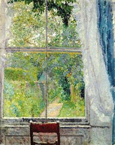 View from a Window, Spencer Frederick Gore, English (1878 - 1914) (by BoFransson)