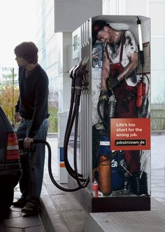 petrol pump creative job ad