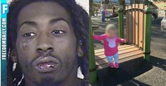 "It started out like a typical day for a young mother in Kansas City, Missouri, who decided to take advantage of the nice weather and take her young children to play at a local park. But it wouldn't take long for the lovely afternoon to be transformed into her worst nightmare, after noticing a black nasty thug ""eyeballing"" her young children."
