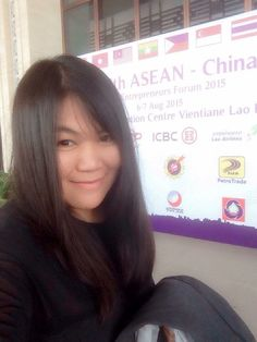 #selfie #wiranthita #vientiane #national #convention #center #lao #aec #asean #entrepreneur #forum