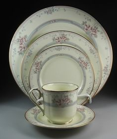 Magnificence by Noritake China    I've been collecting this for years.  Started with a few place settings as a wedding gift.  I love to use it.