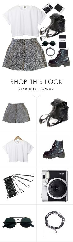 """90's grunge"" by wtf-towear ❤ liked on Polyvore featuring CC, Conair, Fuji, Polaroid and Whistles"