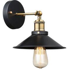 Globo 15053W LENUS - Retro nástěnná lampa naklápěcí