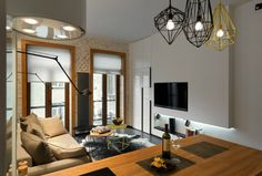 Contemporary 40 square meter 430 square feet Apartment 14