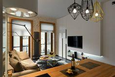 Contemporary 40 square meter 430 square feet Apartment 14