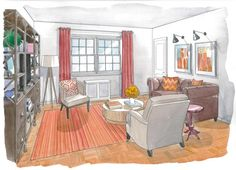 House Calls | A living room makeover in Arlington: http://wapo.st/IJefQc