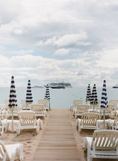 Seaside Seating in Monaco | photography by http://www.ktmerry.com/