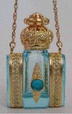 Fabulous Czech perfume bottle