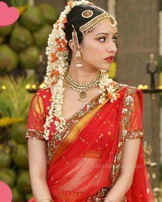 "Shraddha Kapoor Most beautiful bride. """