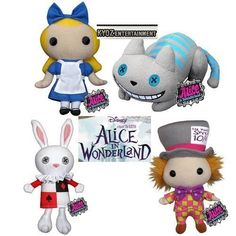 Totally Cute Alice Plushies