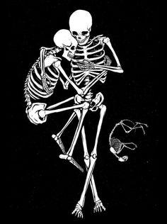 skull-heads:In that moment I felt solace. Skeleton Love, Skeleton Art, Art Sketches, Art Drawings, Skull Tatto, Skeleton Drawings, Skull Head, Skull And Bones, Dark Art