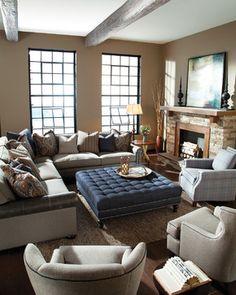 Living room scenes - Huntington House Furniture