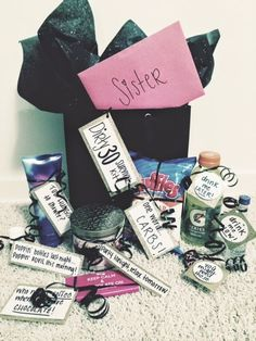 The Domestic Diva Diaries Dirty 30 Survival Kit Birthday Ideas 30th