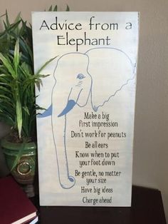 Wisdom From An Elephant