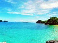Pantai Tiga Warna, Sebuah Pantai Indah Yang Masih Terjaga Keasriannya Dan Tentunya Wajib Untuk Dikunjungi