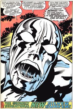 Silver Surfer (1970) by Jack Kirby