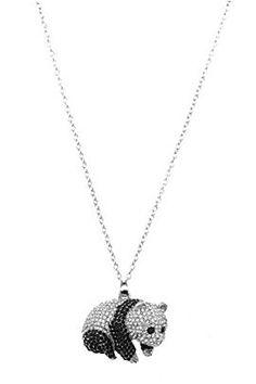 Panda Bling Necklace- Hot Topic