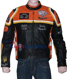 Get your hands on this famous Harley Davidson and The Marlboro Man Biker Leather Jacket. Harley Davidson Leather Jackets, Designer Leather Jackets, Leather Jackets For Sale, Men's Leather Jacket, Biker Leather, Leather Men, Man Jacket, Motorcycle Leather, Cowhide Leather