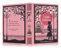A Little Princess by Frances Hodgson Burnett. I actually like this better than The Secret Garden. I'm just so happy there's a leatherbound version of it family. Plus, the illustrations look beautiful.
