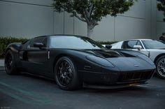 Black Matte Ford GT