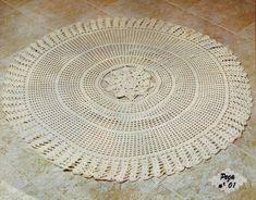 tapete de crochê redondo Bathroom Rugs, Retro, Blog, Home Decor, Carpets, Crochet Round, Round Shag Rug, Make Art, Happy Art