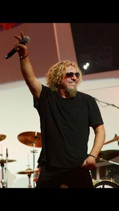 "Sammy Hagar will rock a last-minute beach party Wednesday at the Hard Rock Hotel, and he will be joined by his ""favorite party partner"" from Van Halen. Red Rocker, Las Vegas Review Journal, Sammy Hagar, Classic Rock Bands, Hard Rock Hotel, Van Halen, Rock Music, Celebrities, Rock Stars"