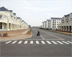 Ordos China A Modern Ghost Town Photo Essays Ghost Towns - Tianducheng a ghostly abandoned clone of paris in the middle of china