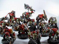 Boy, Evil Suns, Evil Sunz, Greenskins, Orks, Red, Sluggaboyz, Warhammer 40,000