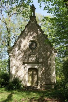 How cute would this abandoned chapel be as a 'Cottage' Loire Valley, France
