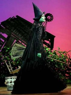 Idina Menzel as Elphaba in WICKED the Musical